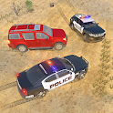 Offroad Jeep Prado Driving - Police Chase Games icon