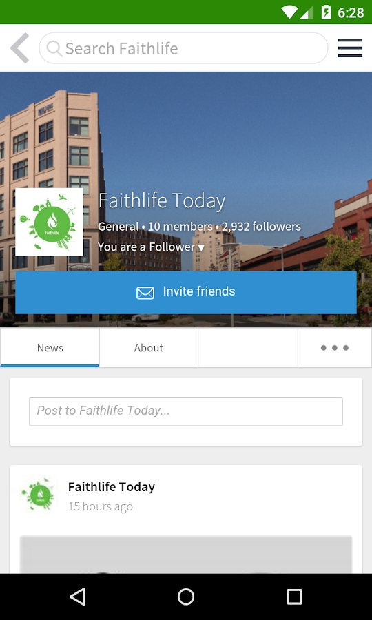 Faithlife Groups- screenshot