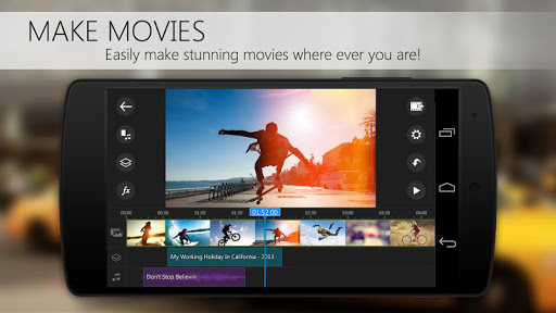 PowerDirector Video Editor App v4.13.3 [Unlocked + AOSP]