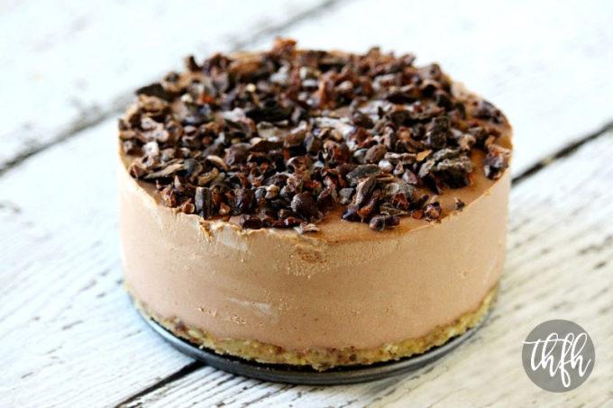 Raw Vegan Chocolate Banana Cheesecake (Raw, Vegan, Gluten-Free, Dairy-Free, Soy-Free, Egg-Free, Paleo-Friendly, No Refined Sugar) Recipe