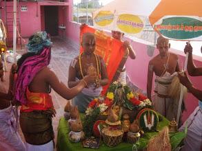 Photo: Kumbha sthapana pooja