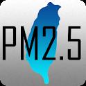 台灣 PM2.5 & PM1.0 分佈圖 含空氣品質 風向 及 歷史紀錄 icon