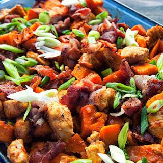 Sweet Potato and Buffalo Chicken Casserole Recipe