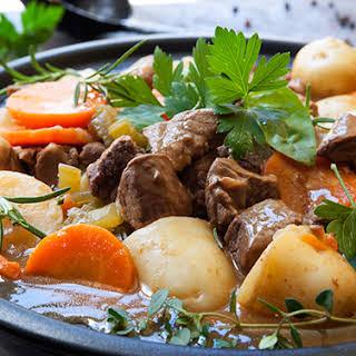 Slow Cooker Irish Beef Stew.