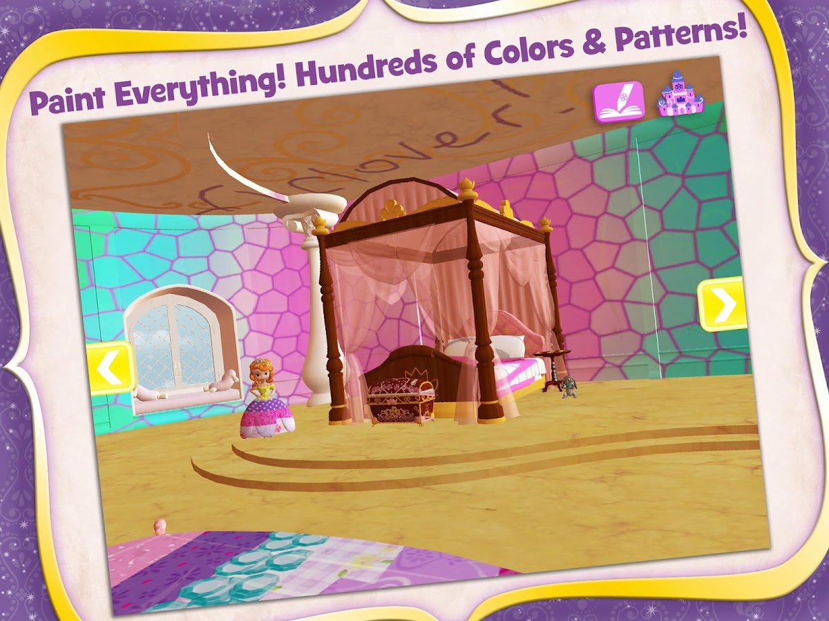 Sofia The First Bedroom Sofia The First Color And Play Android Apps On Google Play
