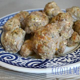 Ricotta Meatballs.