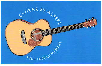 "Photo: ""Guitar By Albert"" tshirt design"
