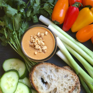 Thai Peanut Dipping Sauce.