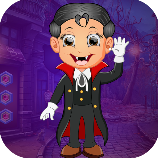 Best Escape Game 433 Vampire Boy Rescue Game