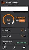 Vulnerability Scanner Mobile App: Vulners Scanner