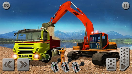 Sand Excavator Truck Driving Rescue Simulator game 7