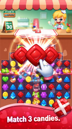 Sweet Candy POP : Match 3 Puzzle screenshots 12