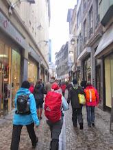 Photo: door de smalle straatjes van Luik