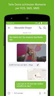 Telekom Message+ (RCS) – Miniaturansicht des Screenshots