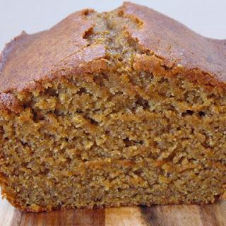 Gluten- Free Pumpkin Bread.