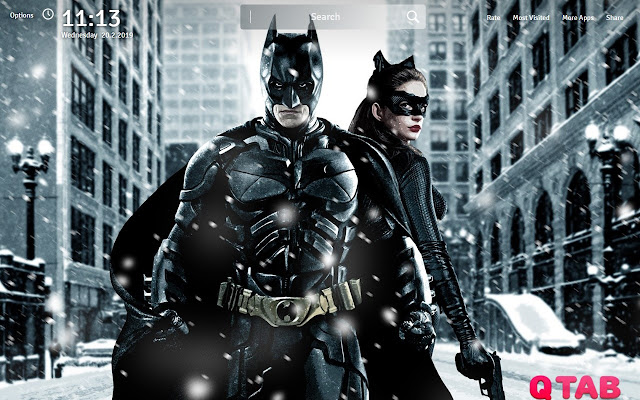 Batman and Catwoman Wallpapers New Tab