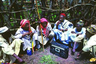 Photo: Rural radio and community meeting