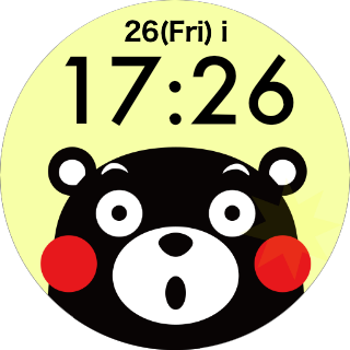 Face Watch (KUMAMON Ver.) 1.0 Windows u7528 2