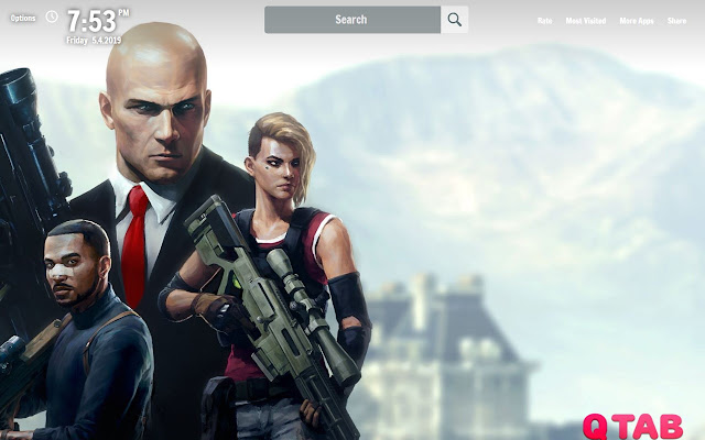 Hitman 2 New Tab Hitman 2 Wallpapers