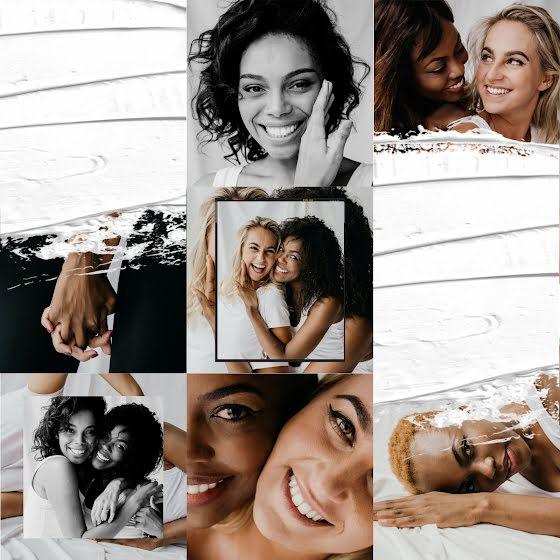Multiracial Lesbian Couple - Instagram Template