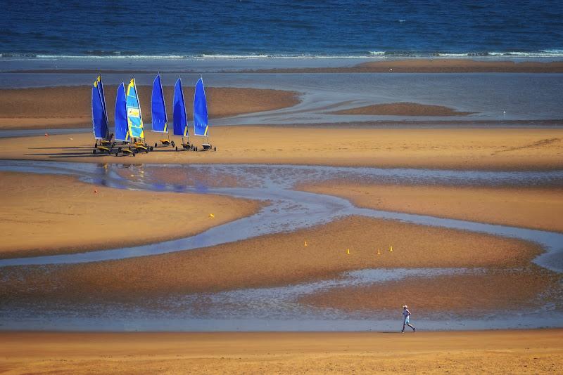 Jogging e sport in spiaggia di Herrfulvis
