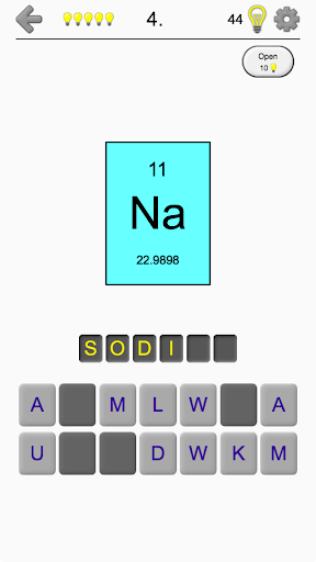 Download Chemical Elements And Periodic Table Symbols Quiz On Pc