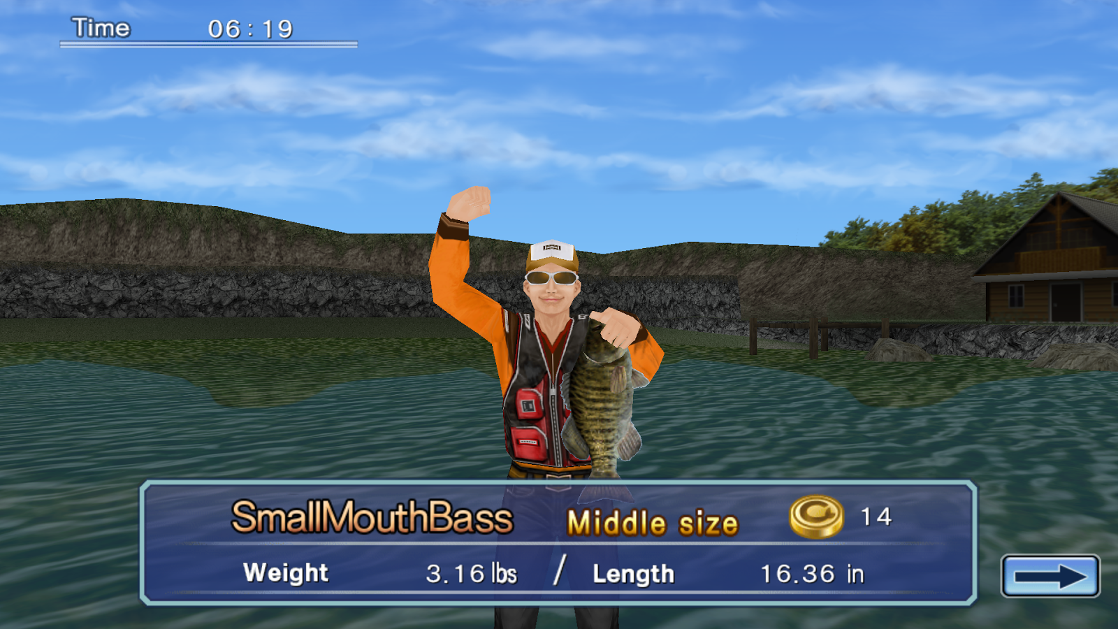 Bass Fishing 3D on the Boat- screenshot