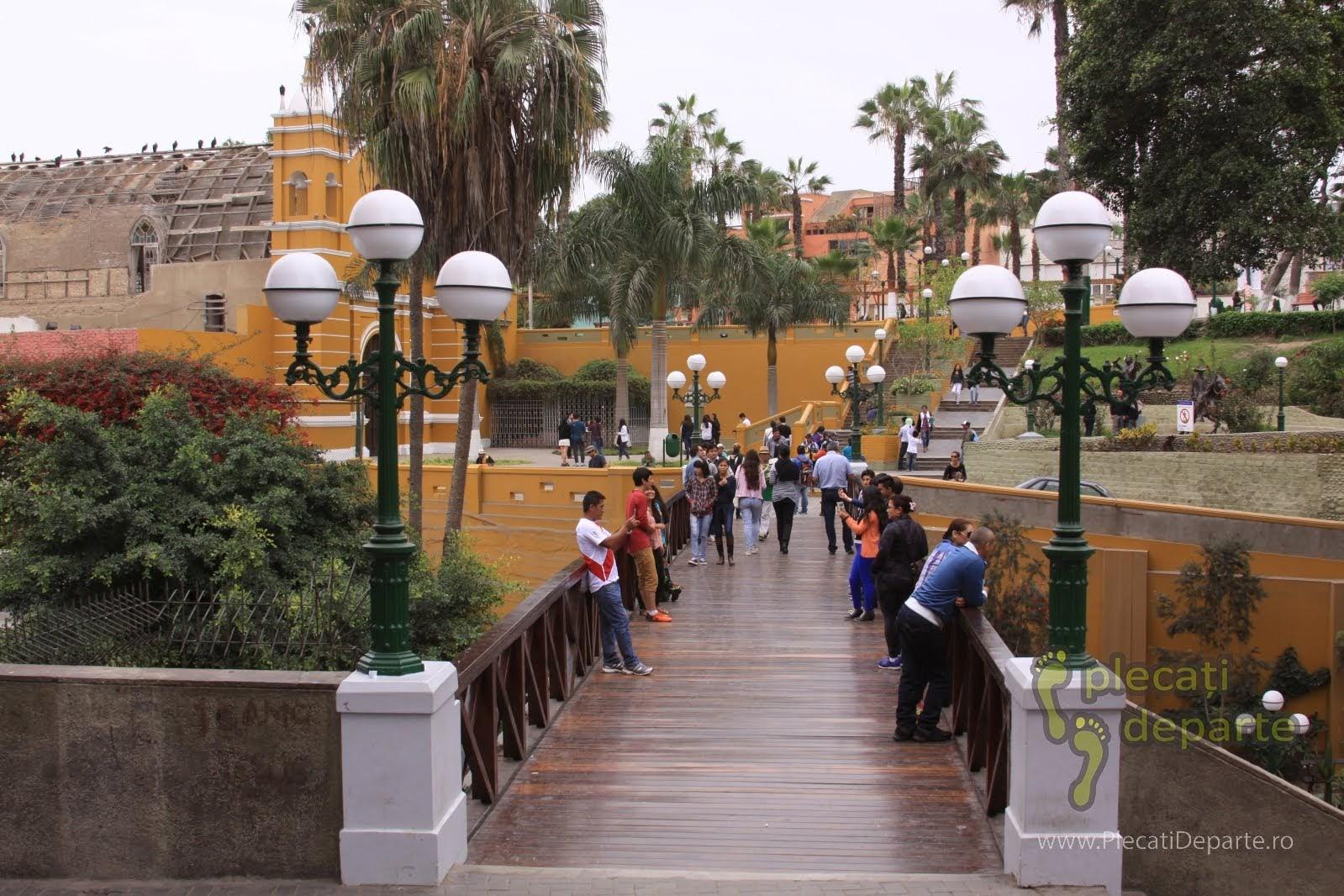 cartoerul Barranco, din Lima, Peru