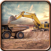 Excavator Construction Sim
