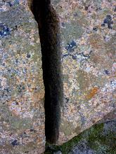 Photo: Cracker of a rock!