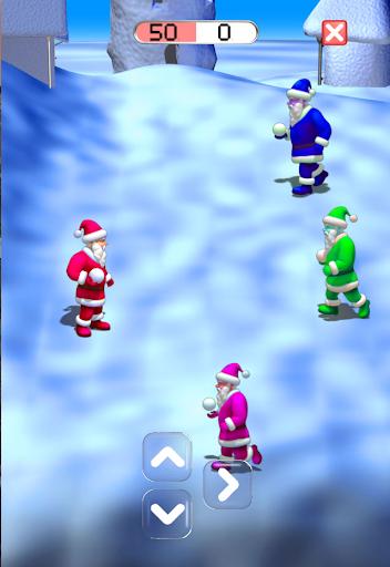 SantaClaus-PlayingSnowballs *
