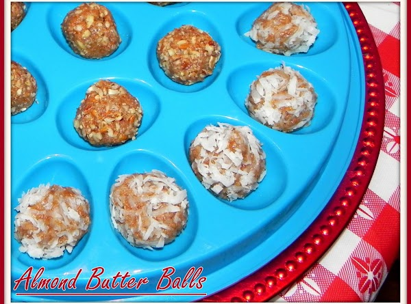 Almond Butter Balls Recipe