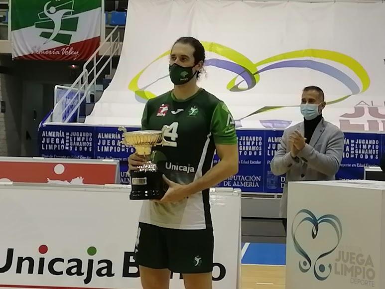 El capitán de Unicaja Costa de Almería.