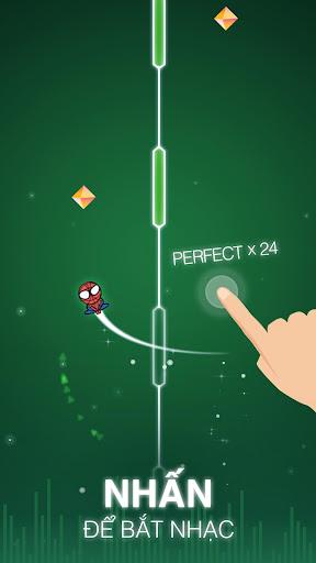 Nhấn để bắt nhạc trong game Dot n Beat