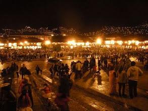 Photo: クスコ ハロウィン前夜のアルマス広場