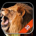 Lion Live Wallpaper Free icon