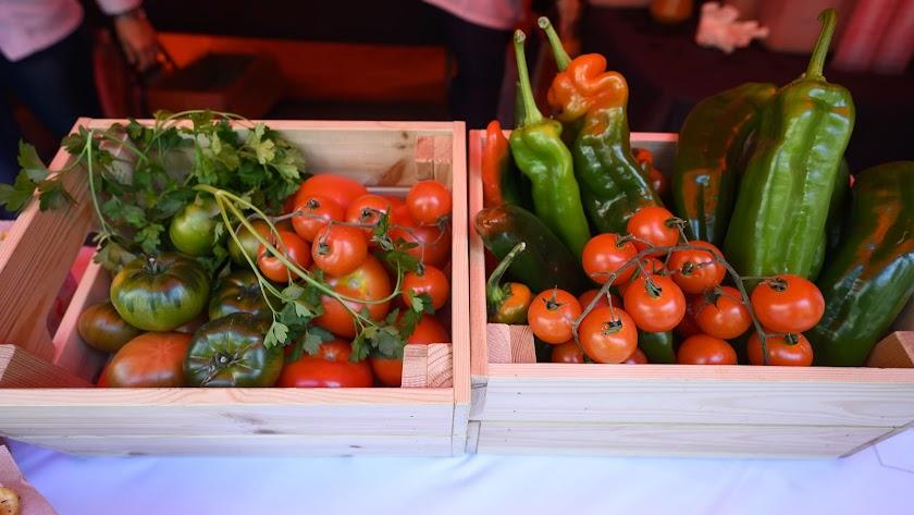 El tomate es uno de sus productos estrella.