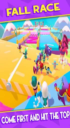 Fall Boys : KnocKout Royale Race 3D screenshot 1
