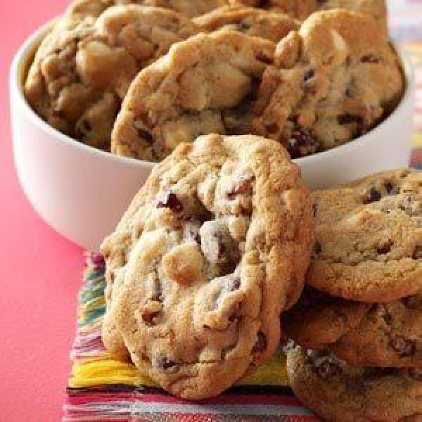 Cranberry Chocolate Chip Cookies Recipe