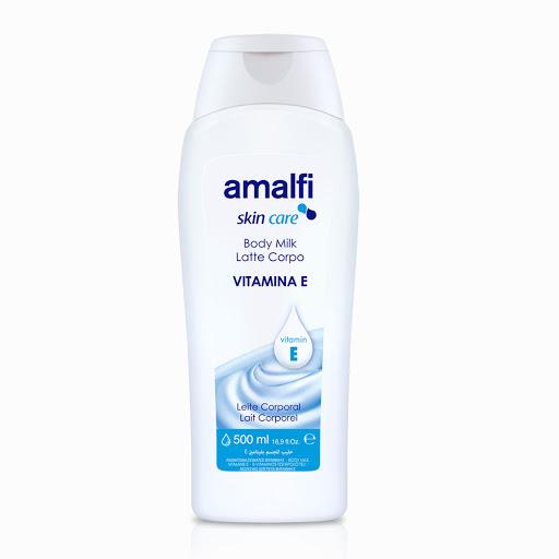 crema corporal amalfi body milk vit e 500 ml