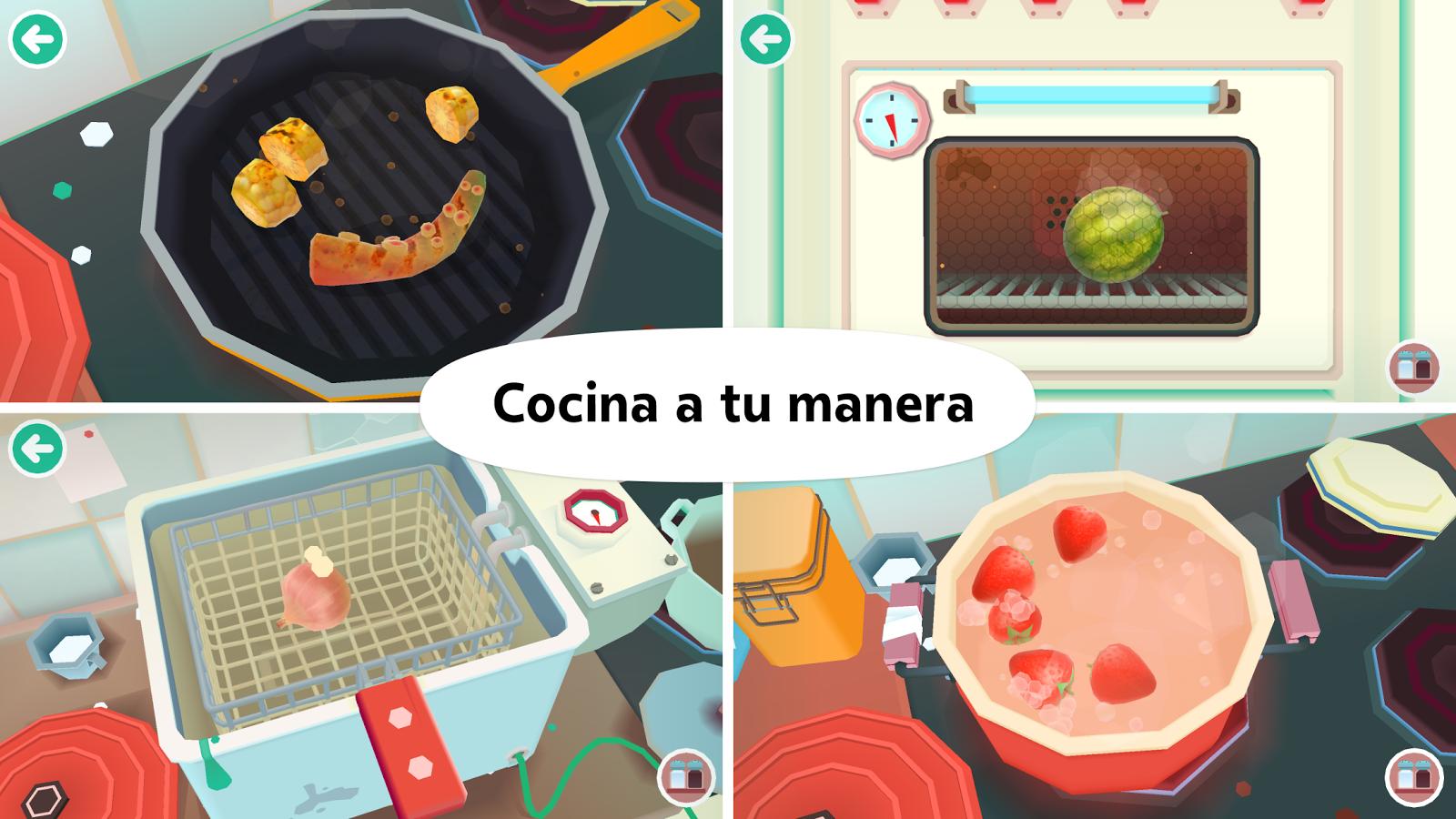 Juegos De Cocinar Lo Que Yo Quiera | Toca Kitchen 2 Aplicaciones De Android En Google Play