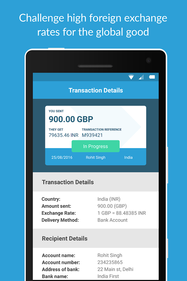 Xendpay Money Transfer- screenshot