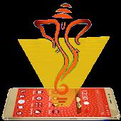 3D Hologram Ganesha Theme