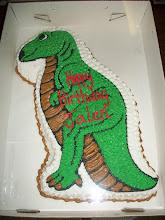 Photo: Dinosaur Shaped Cake
