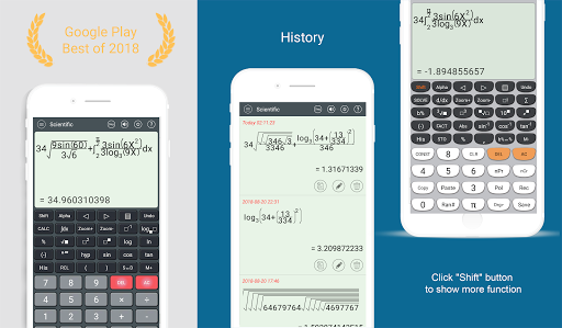 HiEdu Scientific Calculator : Fx-570vn Plus 3.9.2 screenshots 1