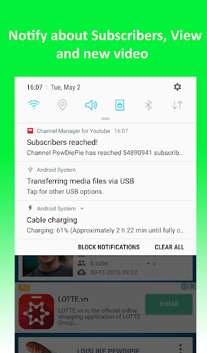 Channel Manager For Youtube 2.6 screenshots 4