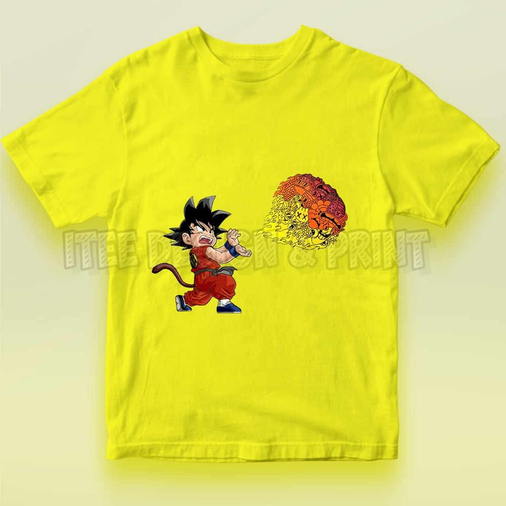Goku Fireball Kamehameha Doodle 15