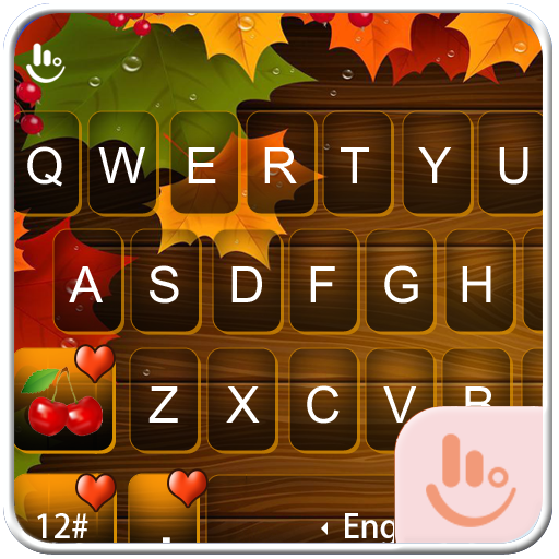 Colorful Autumn Keyboard Theme 生活 App LOGO-APP開箱王