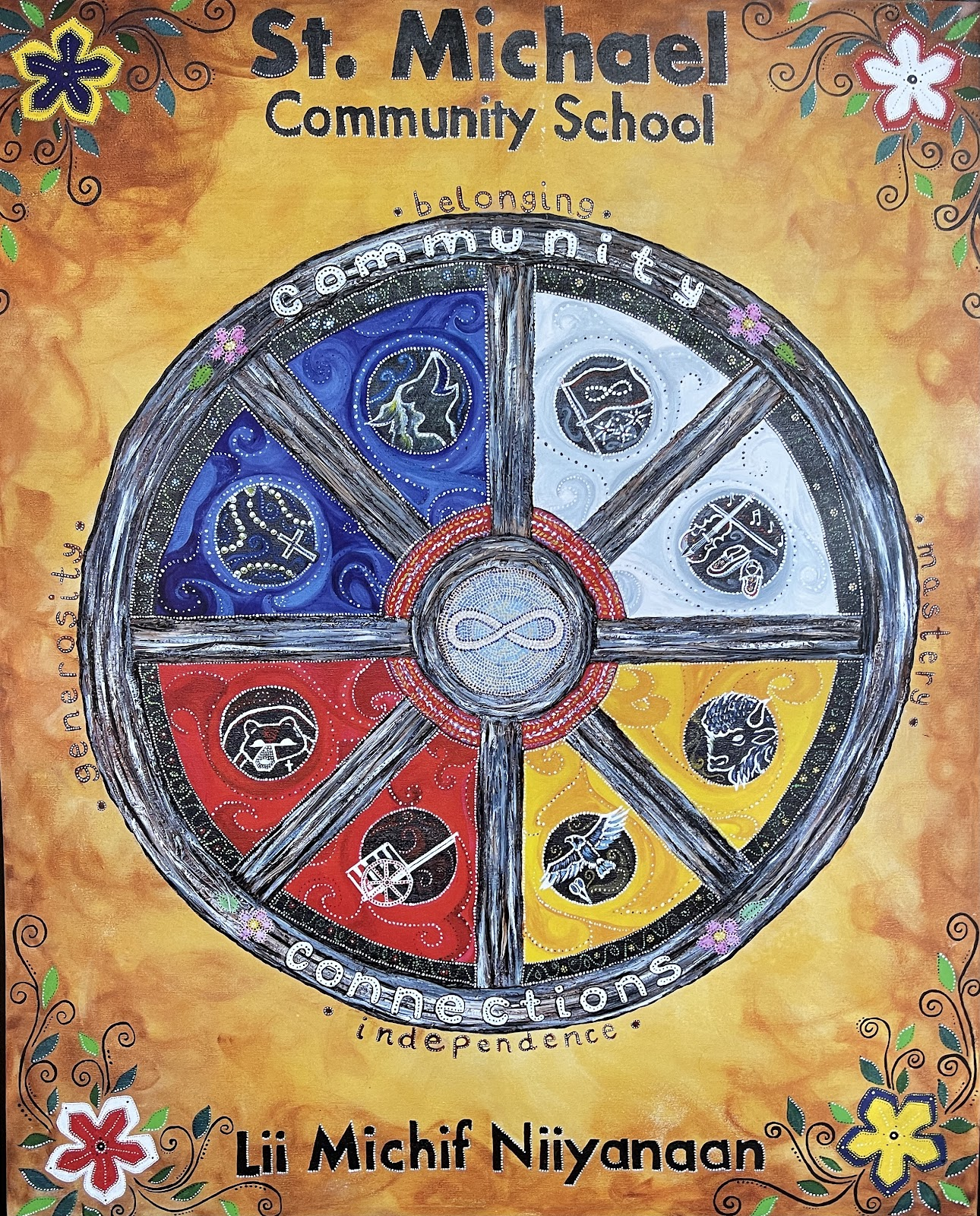 St. Michael Community School wheel/circle
