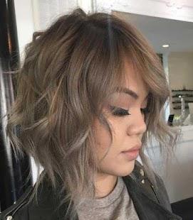Messy Bob Haircut - náhled